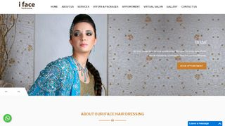 Analyse de ifacehairdressing.com
